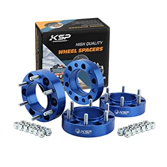 KSP 6X5.5 Wheel Spacers Fit for Tacoma 4runner B07DLX519N 1.5 inches Forged Hub Centric Adapters Kits fit 6 Lug Wheel Package of 4,