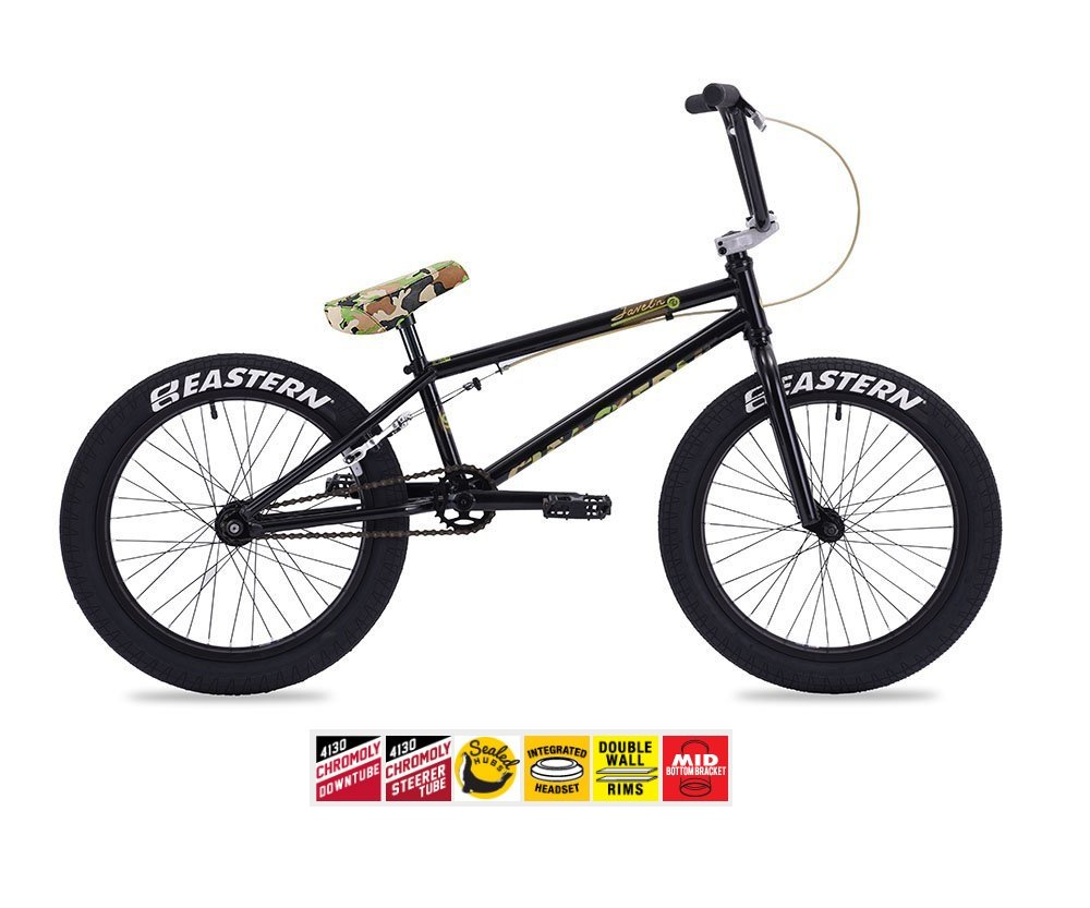 Eastern Javelin BMXバイク2017自転車ブラックand Camo B01NBYJROP