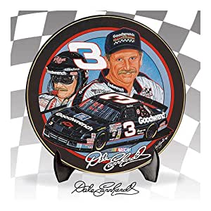 Limited-edition Dale Earnhardt Collector Plate Honors Legendary #3® with Stunning Sam Bass Artwork! Exclusive