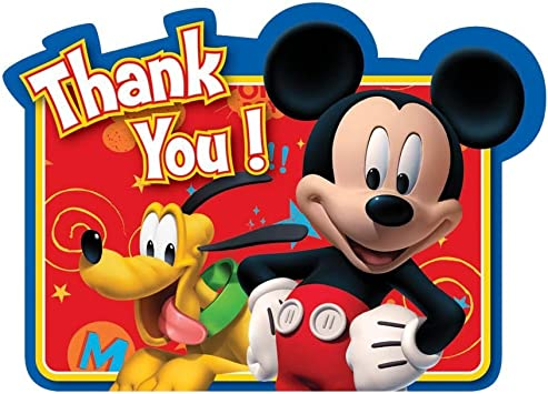 Disney Baby Minnie Mouse Thank you Cards 8 COUNT