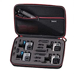 Smatree Carrying Case For Gopro Hero 6543+321,for Gopro Hero (2018)(camera & Accessories Are Not Included)-large