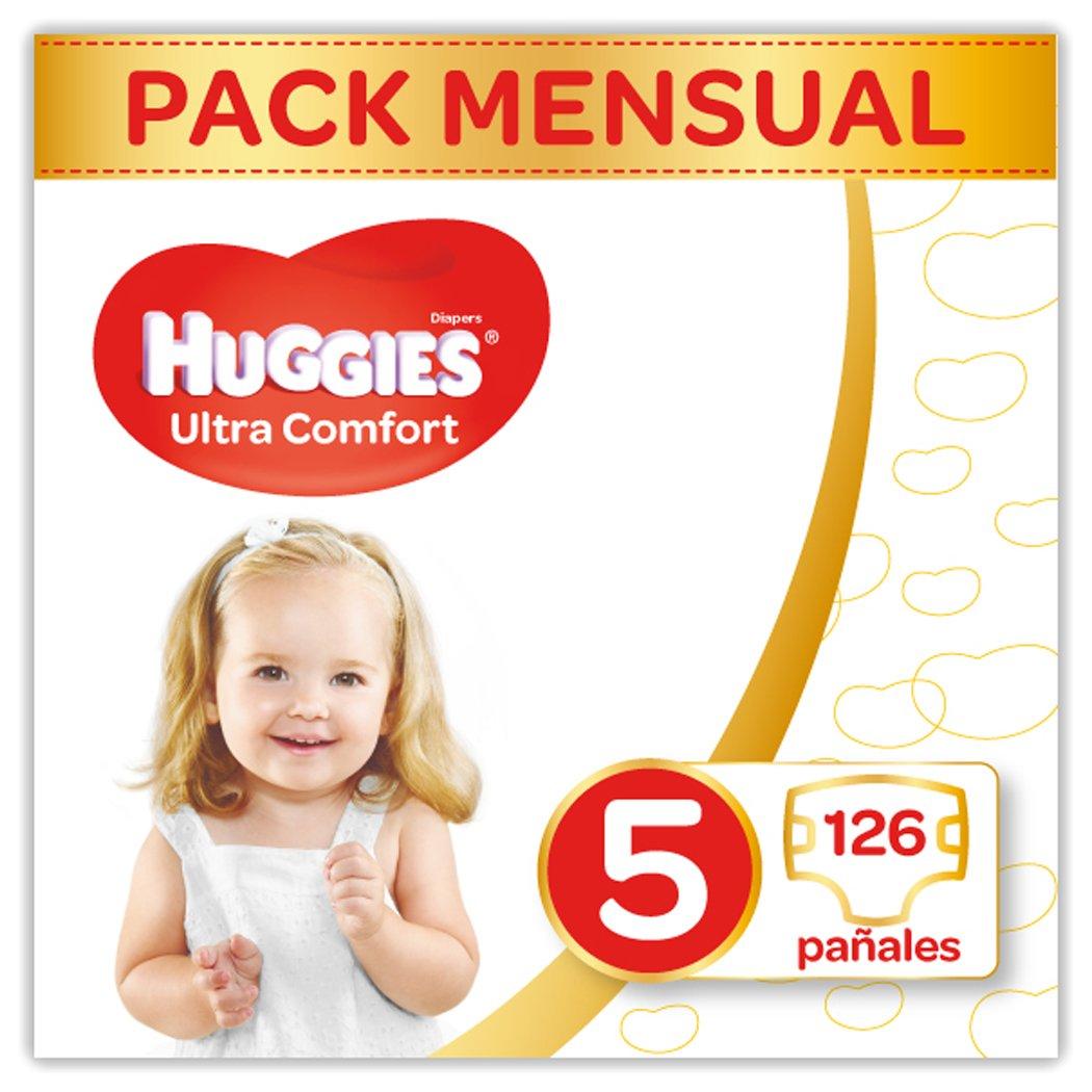 Huggies Ultra Comfort Pañales Talla  kg Pañales