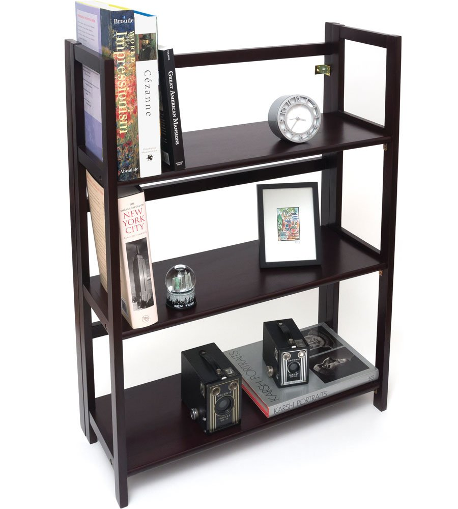 K&A Company Childrens Bookcase, 27.25'' x 38'' x 11.5'' x 19 lbs, Espresso