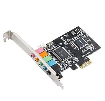 HaoYiShang PC de escritorio PCI-E tarjeta de sonido 5.1 PC ...