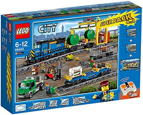 LEGO 66493 City Superpack 4in1 60052 + 60050 + 7895 + 7499