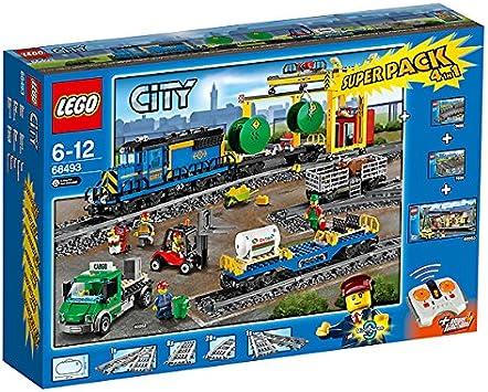 LEGO City 66493 – Tren de Mercancías Value Pack: Amazon.es ...