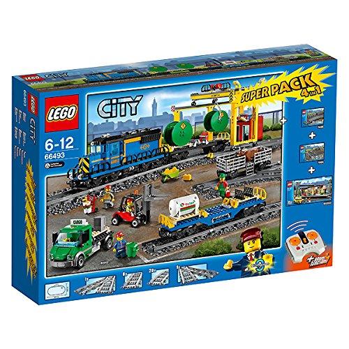 Lego City 66493–Train de marchandises Value Pack