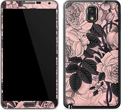 Floral Patterns Galaxy Note 3 Skin - Rose Quartz Floral Vinyl Decal Skin For Your Galaxy Note 3
