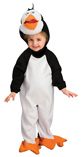 uhc babys madagascar penguin rico outfit infant newborn halloween costume