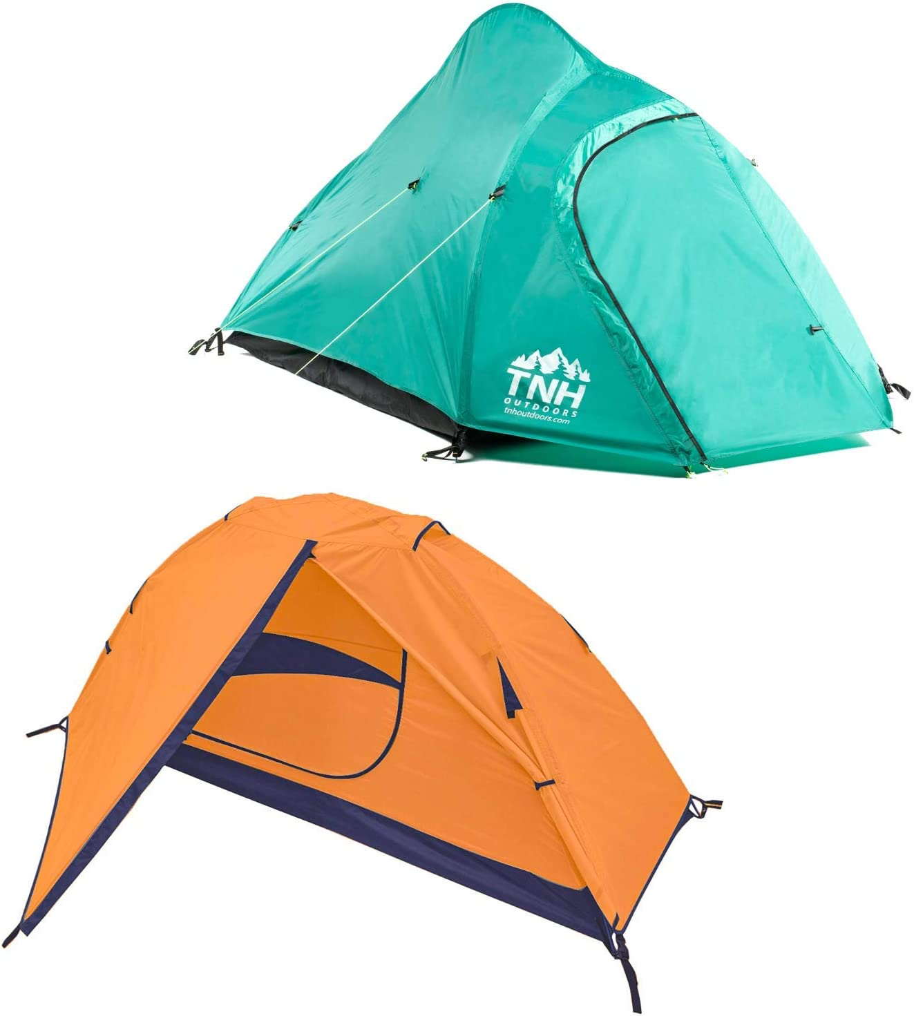RAKAIA DESIGNS Camping & Backpacking Tent with Carry Bag and Stakes - Portable Lightweight Easy Setup Hiking Tent