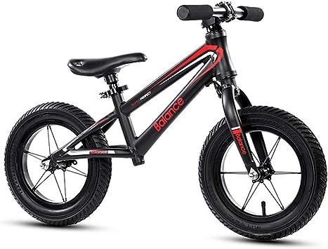 CBA BING Niños Balance Car No Pedal, sin Pedal Bicicleta niño bebé Slide Walker Bicicleta Deslizante Niño pequeño Scooter de Aluminio Niño/Niña Suspensión Neumático: Amazon.es: Deportes y aire libre