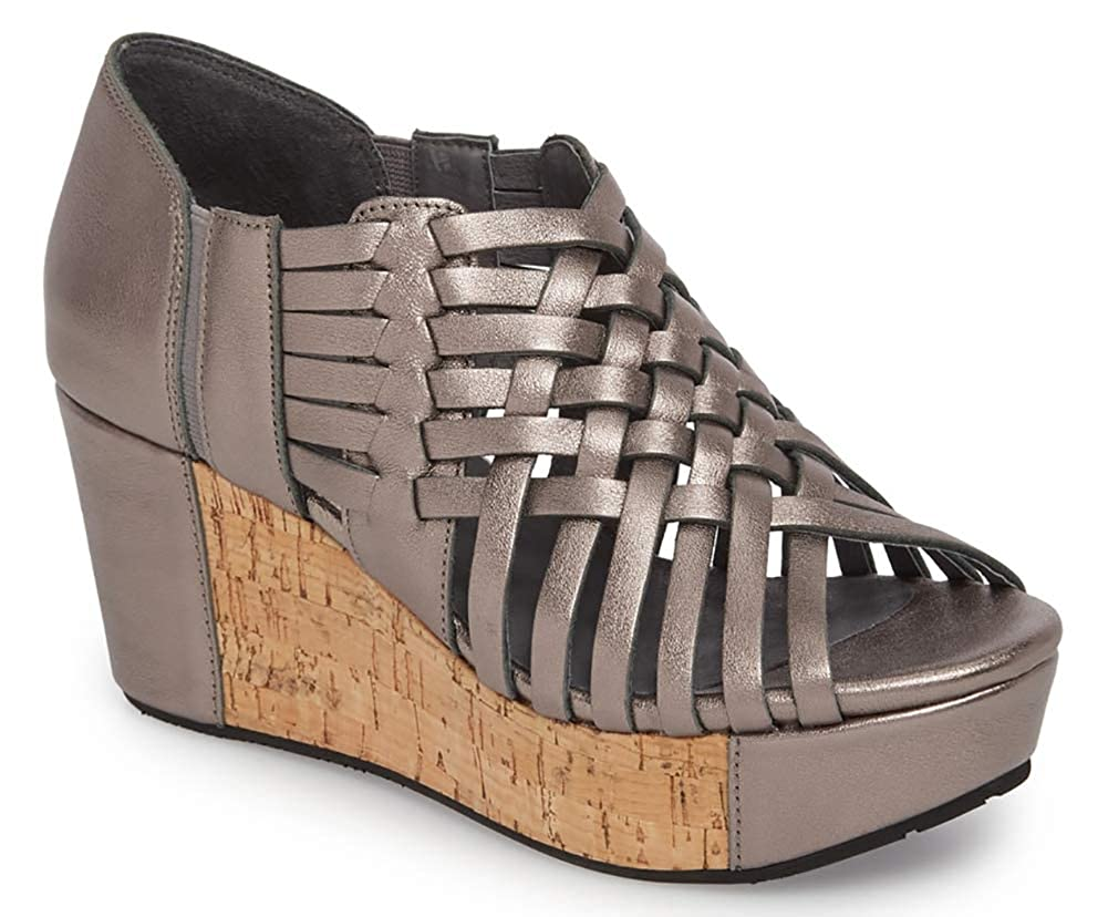 Web Wedge Sandal Chocolat Blu Womens