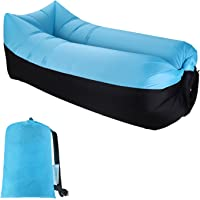 Sable Inflatable Lounger, Portable Air Sofa Hammock
