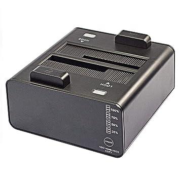 Caja Disco Duro, estación de Acoplamiento para Disco Duro USB 3.0 ...