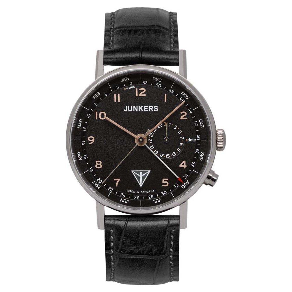 Herren Uhr Armband 67345 Mit Junkers Analog Quarz Leder cL3A4R5jq
