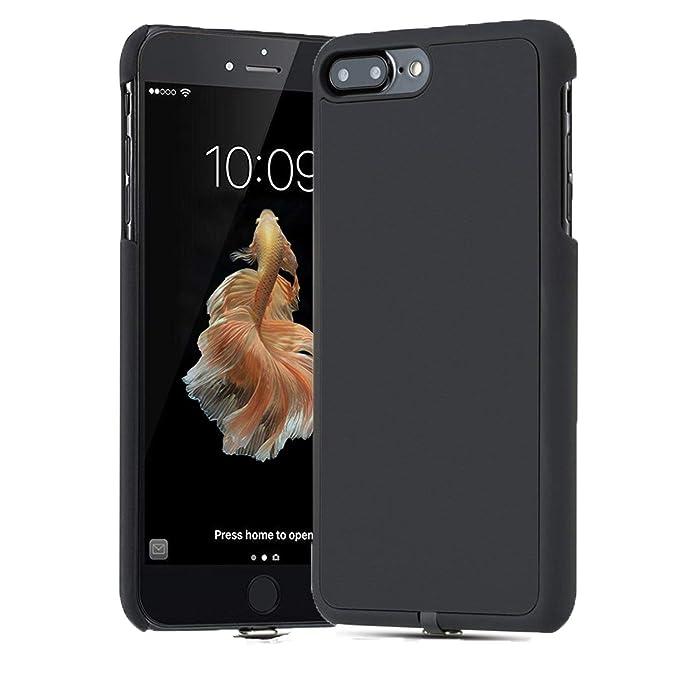 Qi - Carcasa para iPhone 7 Plus y iPhone 7 (Cargador inalámbrico ...