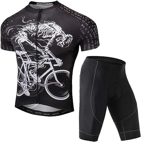 Ropa Conjunto Traje Equipacion Ciclismo Hombre Equipacion 3D Gel ...