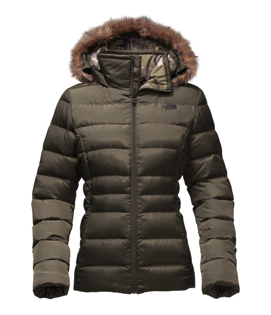 The North Face Women's Gotham Jacket II - New Taupe Green - S (Past Season) by The North Face
