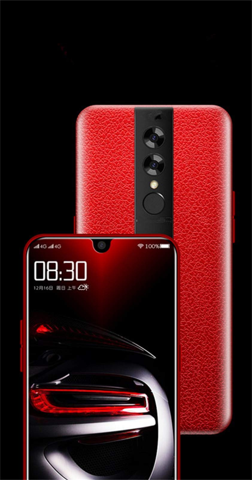 OutTop(TM) MATE20 6.18 Inch Dual HD+ Camera Water Drop Screen Android 8.1 2G+32G GPS 3G Smartphone Big Capacity 3800mAh Battery (Red) by OutTop(TM) (Image #3)