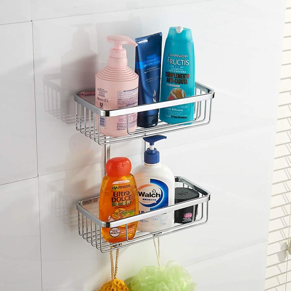 Oreficerie 1 Livello LUDSUY Chrome Angolo Mensola Bagno Doccia Shampoo Mensola Sapone DAngolo Di Immagazzinaggio Mensola Del Bagno Accessori