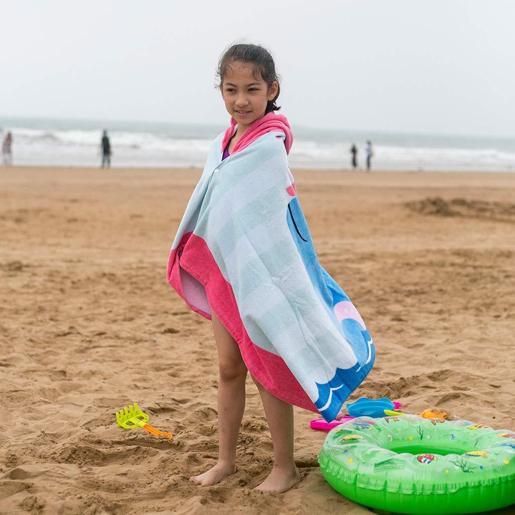 Drindf Baby Clothes Kids Hooded Beach Bath Towel Super Soft Childrens Towel Swimming Girls Boys Thicken Cloak