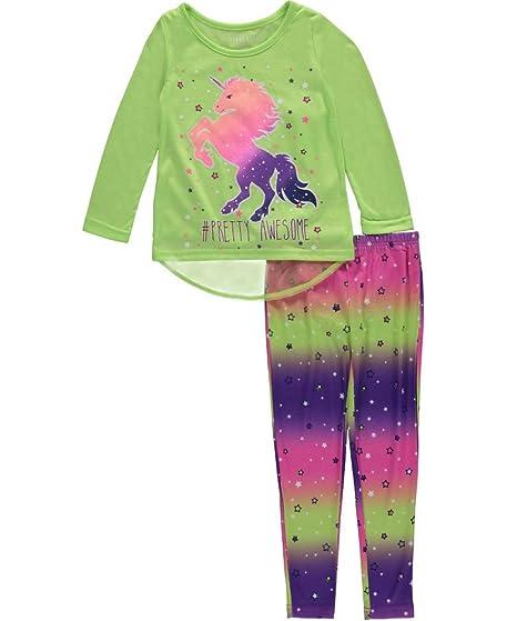 Komar Kids - Pantalón de pijama - para niña amarillo verde lima 32: Amazon.es: Ropa y accesorios