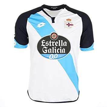 Camiseta RC Deportivo de la Coruña Away 2016-2017 White-Blue Talla XXL: Amazon.es: Deportes y aire libre