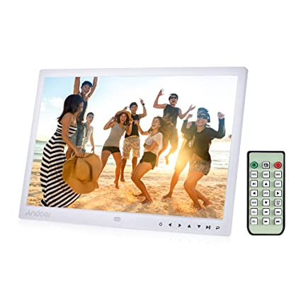 Amazon.com : Andoer 15 inch TFT LED Digital Photo Picture Frame ...
