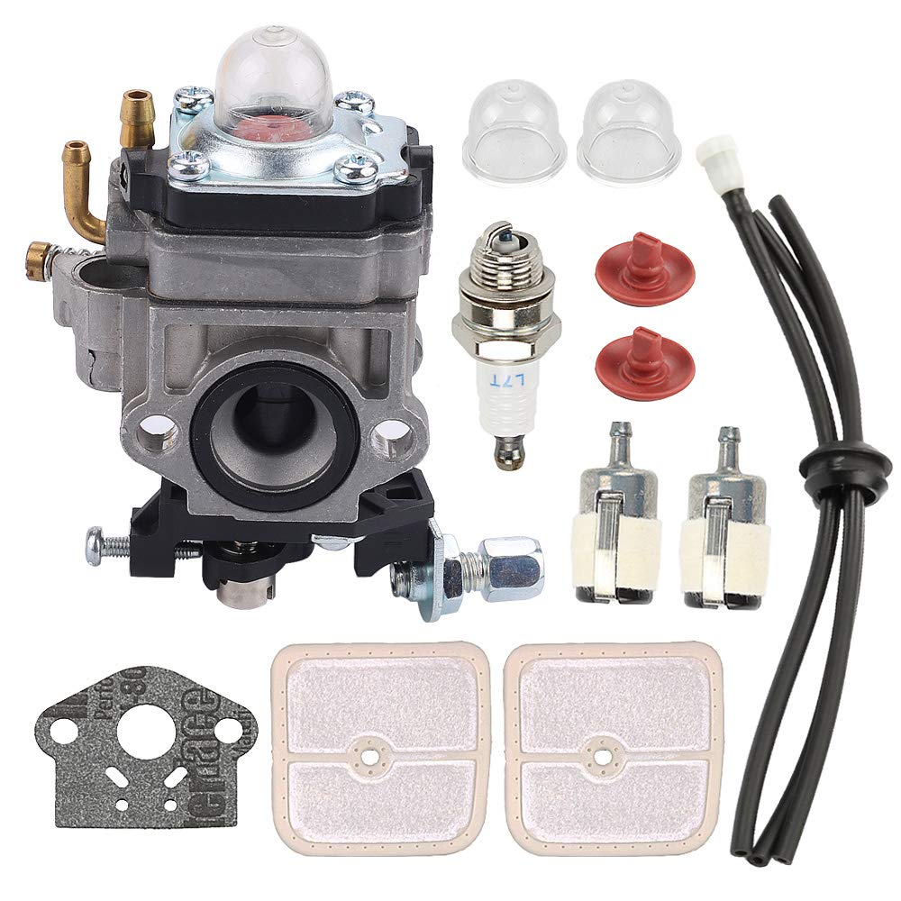Mannial WYK-186 Carburetor Carb fit Echo PB-260L SRM-260S SRM-261S PPT-260 PPT-261 Power Blower Leaf Blower Shindaiwa 81742 AH242 AHS242 C242 T242X T242 LE242 String Trimmer A021000700