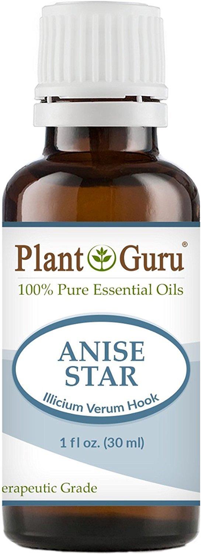 Anise Star Essential Oil. 30 ml (1 oz) 100% Pure, Undiluted, Therapeutic Grade. by Plant Guru B00MHYPLJC