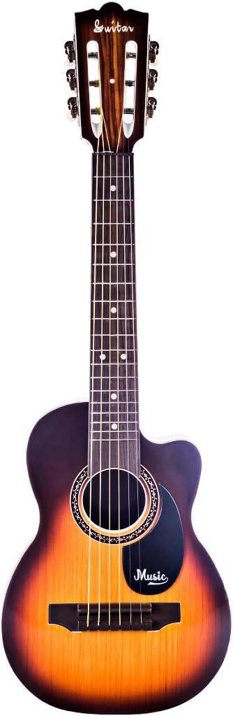 YAKOK Simulación Guitarra Niño 6 Cuerdas 27 Guitarra Juguete ...