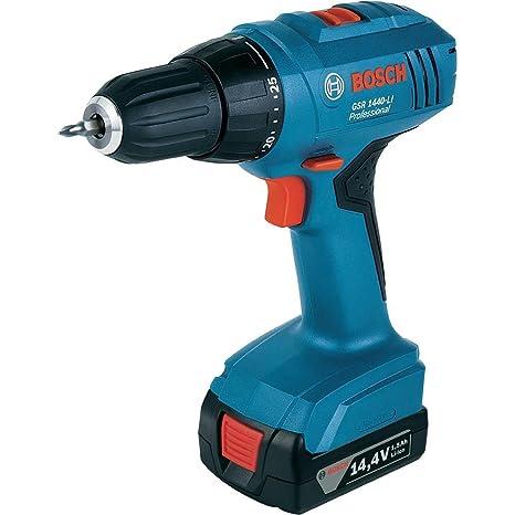 Amazon.com: Bosch gsr1440-li Cordless Drill Driver Impacto/1 ...