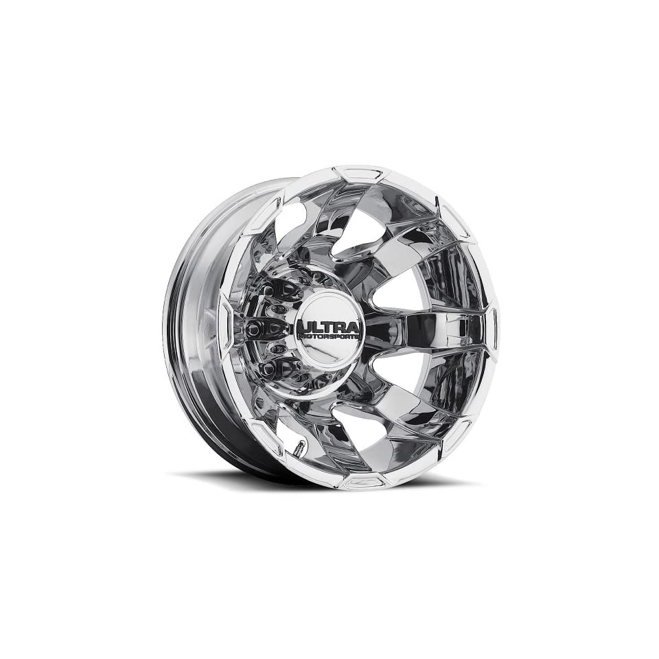 Ultra Phantom Dually 16 Chrome Wheel / Rim 8x170 with a  140mm Offset and a 125 Hub Bore. Partnumber 025 6687RC