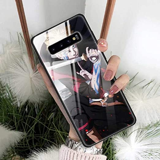 Naruto Kakashi Pain Hokage Phone Case for Samsung Galaxy S20 S10 S9 S8 Plus S10e Note 9 10 20 Plus Ultra 5G Tempered Glass Phone Coque Anime (12, ...