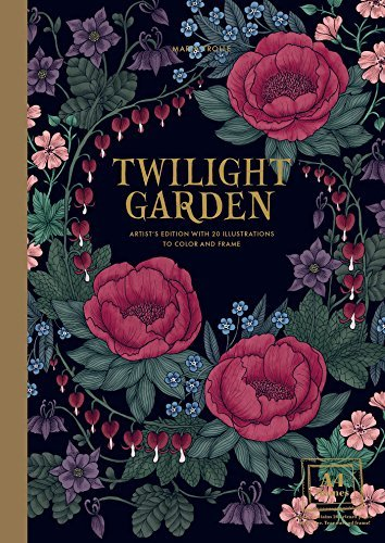 A collection from Sweden's newest coloring book sensation . . .  Maria Trolle's Twilight Garden coloring book collection sets itself apart from the competition with its romantic sophistication. Striking white-on-black printed imagery dispersed throug...