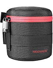 Neewer Thick Padded Protective Water Resistant Durable Nylon Lens Pouch (18-55mm)