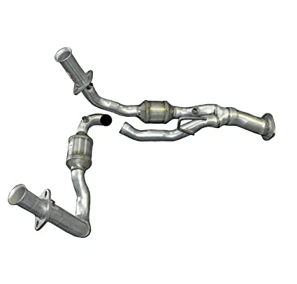Mac Auto Parts 137157 Jeep Grand Cherokee 3.7L Direct Fit Engine Y Pipe Catalytic  Converter