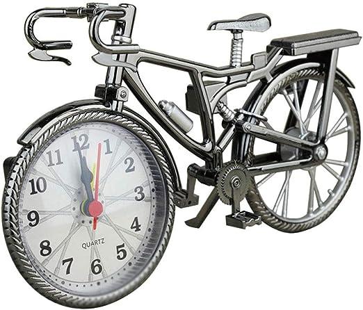 Isunday Bicicleta Antigua Forma Despertador Diversión Bicicleta ...