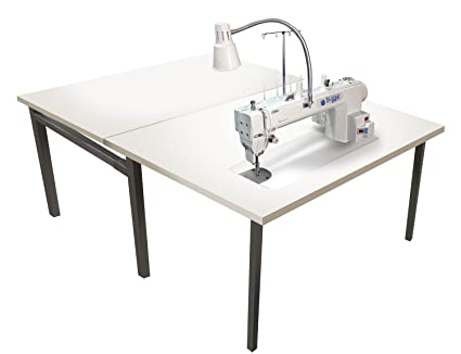 long machine servo sailrite quilt workhorse table with quilting professional motor arm point sewing