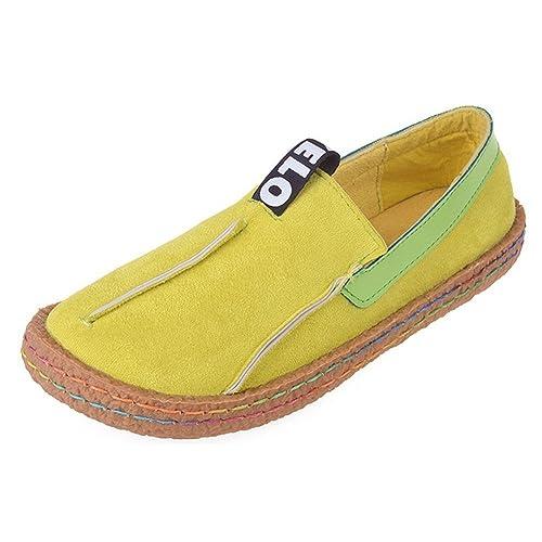 Poplover Mujer Zapatos Planos Casual Alpargatas Zapatos Sin Cordones Transpirable Mocasines 35-42: Amazon.es: Zapatos y complementos