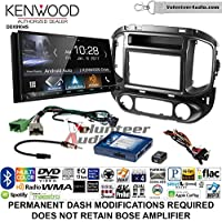 Volunteer Audio Kenwood DDX9904S Double Din Radio Install Kit with Apple CarPlay Android Auto Bluetooth Fits 2015-2017 Chevrolet Colorado, GMC Canyon
