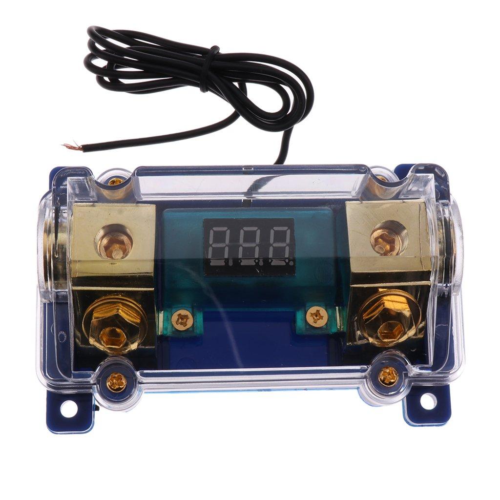 Homyl Fusibili 2 Pezzi 100A 200A E Blocco Di Supporto ANL Protect Gauge Circuit 0 2 4