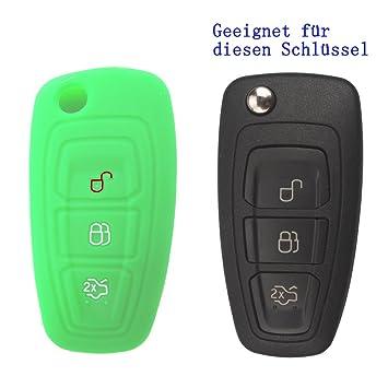 Fiesta C-Max usw. geeignet für FORD KLAPPSCHLÜSSEL GEHÄUSE HU101 Focus Mondeo