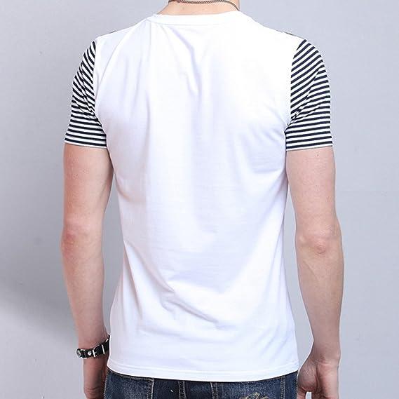 Kinlene Personalidad Moda Hombre Tops Ocio Auto Cultivo Manga Corta Camisetas: Amazon.es: Ropa y accesorios