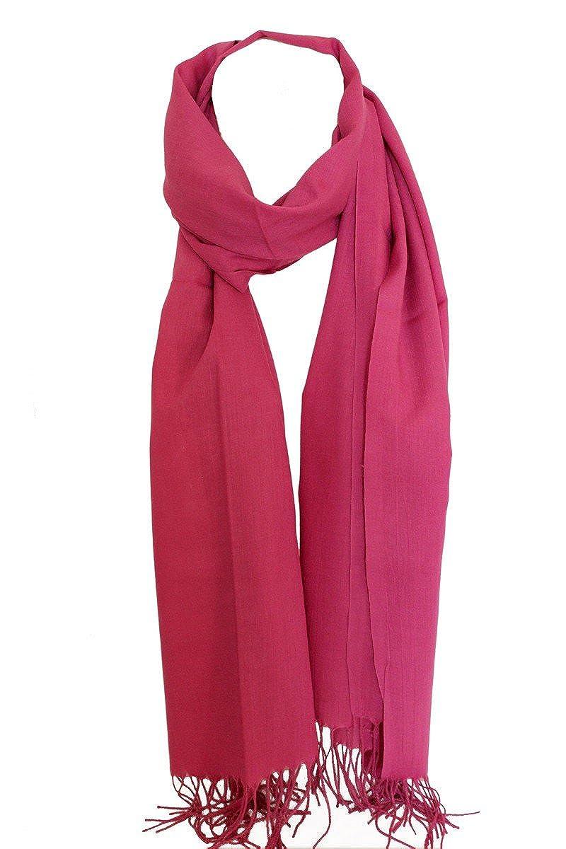 Bullahshah Llanura suave estupenda sensación de alta calidad de algodón egipcio de la estola del mantón de las bufandas de la bufanda del abrigo de Hijab Cabeza