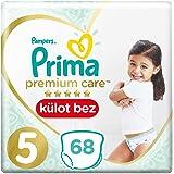 Prima Premium Care Külot Bebek Bezi 5 Beden Junior Süper Fırsat Paketi, 68 Adet