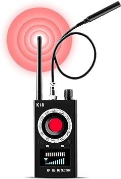 Anti Spy RF Detector Bug Detector Camera Finder Radio Scanner for GPS Tracker GSM Listening Device Hidden Camera Laser