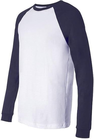 newest 2264c 17f29 Bella Canvas 3000 - Long Sleeve Baseball Jersey T-Shirt