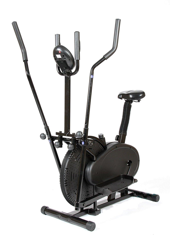 CDW Bicicleta eliptica y estatica 2 en 1 eliptical Trainer: Amazon ...
