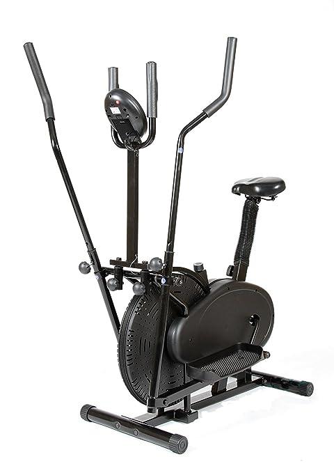 CDW Bicicleta eliptica y estatica 2 en 1 eliptical Trainer: Amazon.es: Deportes y aire libre